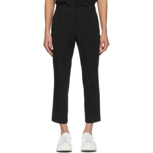 Wooyoungmi Black Twill Trousers
