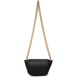 Simon Miller Black Leather Mini Bend Bag