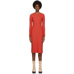Simon Miller Red Wells Mid-Length Dress