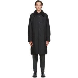 Issey Miyake Men Black Memory Coat