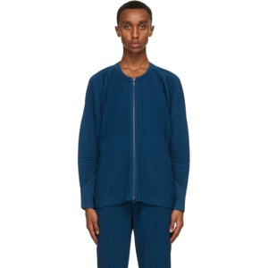 Homme Plisse Issey Miyake Blue Monthly Colors September Jacket