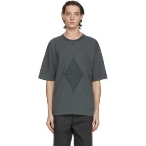 Craig Green Grey Champion Reverse Weave Edition Diamond T-Shirt