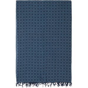 Blue Blue Japan Indigo and Blue Cotton Check Scarf