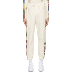 adidas Originals Off-White Paolina Russo Edition Striped Track Pants