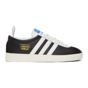 adidas Originals Black Gazelle Vintage Sneakers