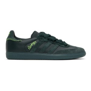 adidas Originals Green Jonah Hill Edition Samba Sneakers