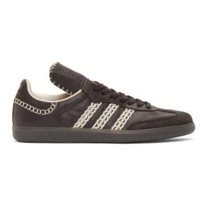 Wales Bonner Black adidas Originals Edition Tongue Samba Sneakers