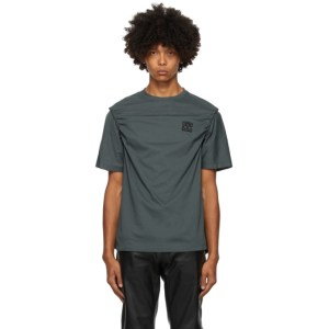 Telfar Grey Braided T-Shirt