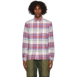 John Elliott Multicolor Sly Straight Hem Shirt