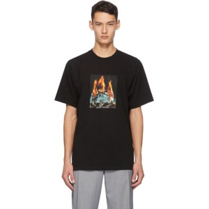Noon Goons Black Fire Ice T-Shirt