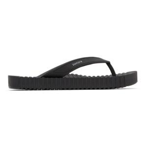 Suicoke Black Von Sandals