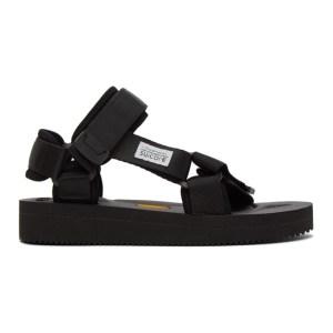 Suicoke Black DEPA V2 Sandals