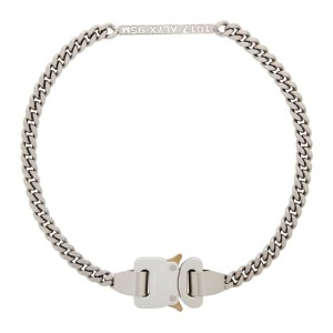 1017 ALYX 9SM Silver Buckle Necklace