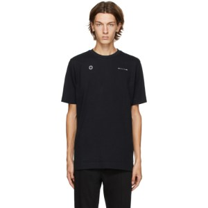 1017 ALYX 9SM Black Double Logo T-Shirt