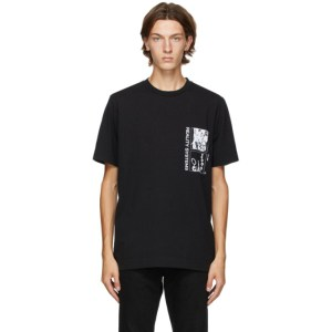1017 ALYX 9SM Black Grid T-Shirt