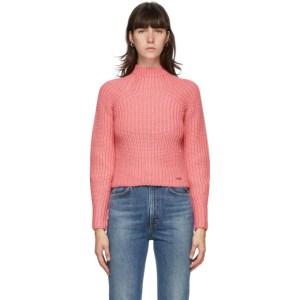 Victoria Victoria Beckham Pink Bell Sleeve Sweater