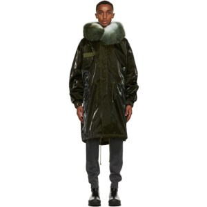 Mr and Mrs Italy Green M51 Parka