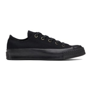Converse Black Chuck 70 Low Sneakers