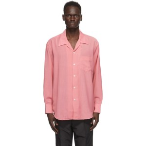 Our Legacy Pink Wool Loco Shirt