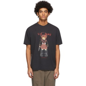 Our Legacy Black 6TEEN6TYSIX Box T-Shirt