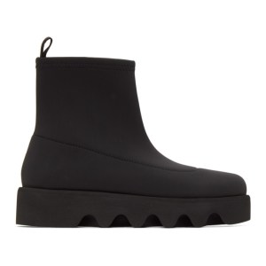 Issey Miyake Black United Nude Edition Short Bounce Boots