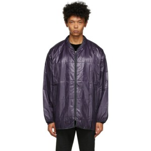 Needles Purple Quilted Piping Jacket