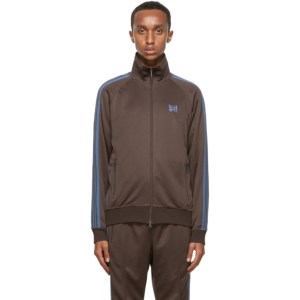 Needles Brown Tricot Track Jacket