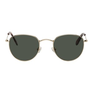 Han Kjobenhavn Gold Cloud Sunglasses