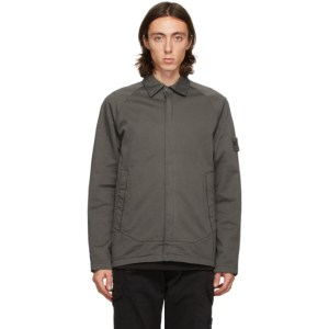 Stone Island Grey Raglan Ghost Piece Jacket
