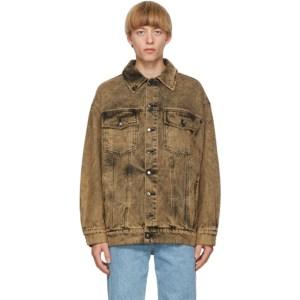 Eckhaus Latta Khaki Denim Nouveau Jacket
