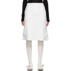 Vejas Off-White Phantom Skirt