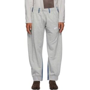 Bless Grey and Blue Vintage Jogging Jeans Lounge Pants