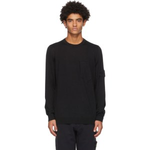 Stone Island Shadow Project Black Catch Pocket Sweater