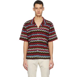 Missoni Red Polo Short Sleeve Shirt
