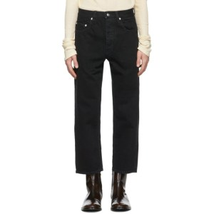 Enfants Riches Deprimes Black Faded Baggy Jeans