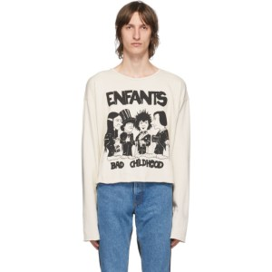 Enfants Riches Deprimes Off-White Bad Childhood Long Sleeve T-Shirt