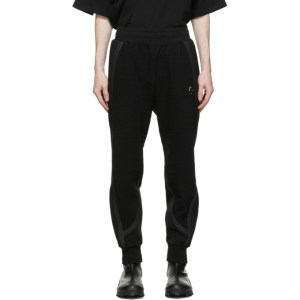 A-COLD-WALL* Black Textured Rhombus Lounge Pants