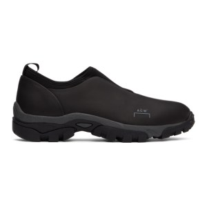 A-COLD-WALL* Black Dirt Mock Sneakers