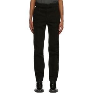 Y/Project Black Multi Loop Trousers