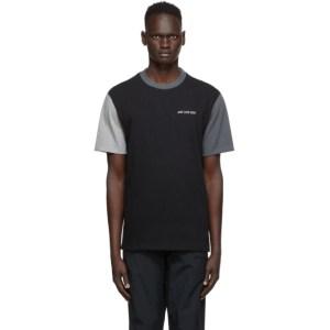 Aime Leon Dore Black Colorblocked T-Shirt