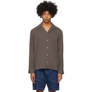 Saturdays NYC Grey Marco Shirt