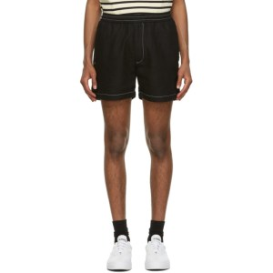 Second/Layer Black New Boxer Shorts