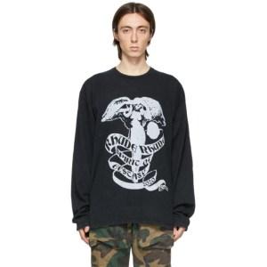 Rhude Black Angel Long Sleeve T-Shirt