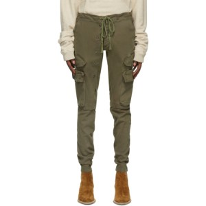 Greg Lauren Khaki Army Cargo Pants