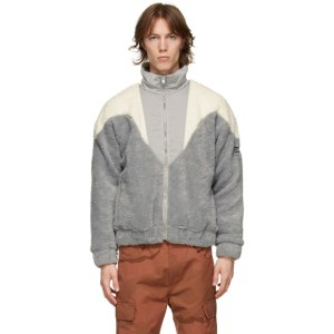 MISBHV Grey Fleece 80s Jacket