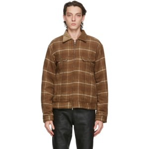 nonnative Brown Check Worker Jacket