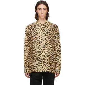 WACKO MARIA Yellow Carhartt WIP Edition Viscose Shirt