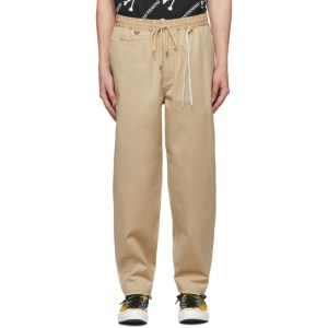 mastermind WORLD Khaki Chino Lounge Pants