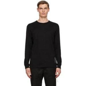 mastermind WORLD Black Logo Long Sleeve T-Shirt