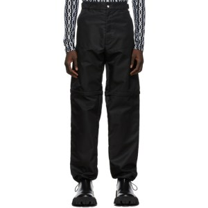 GmbH Black Recycled Haseen Cargo Pants
